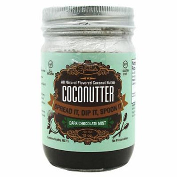Sweet Spreads Coconutter, Dark Chocolate Mint, 15 Ounce
