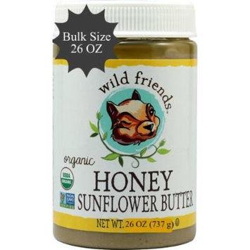 Wild Friends Organic Honey Sunflower Butter - 26 Oz Jar
