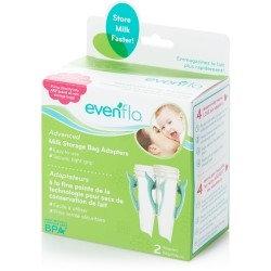 Evenflo Advanced Breast Milk Storage Bag Adapters