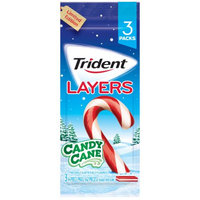 Trident Layers Candy Cane Mint Chewing Gum 42 Ct