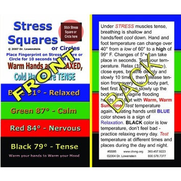 Stress Square Instruction Cards (2500)