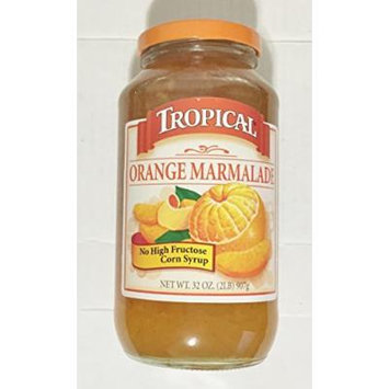 32oz Tropical Orange Marmalade, No Preservatives, No Artificial Coloring, No Artificial Flavorings