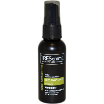 Tres Two Extra Hold Extra Firm Control Hair Spray by Tresemme for Unisex - 2 oz Hair Spray