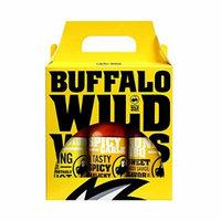 Buffalo Wild Wings Flavor Variety Pack (Medium, Spicy Garlic, Honey BBQ)