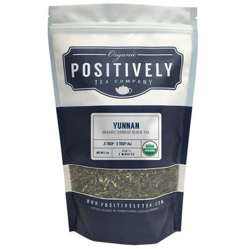 Organic Yunnan Black Tea, Loose Leaf Black Tea, Bulk 1 Pound Bag, Positively Tea LLC. (1 Lb.)