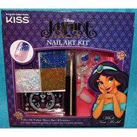Kiss Disney Aladdin Kit Princes Jasmine Nail Art Dreams Kit (Purple - Whole New World)
