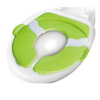 portable potty seat Potty Training Seat for Boys Girls,Non Slip Collapsible Reusable (Blue)