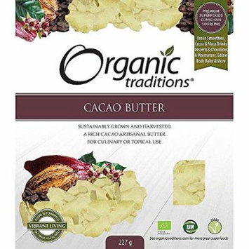 Organic Traditions Cacao Butter Org