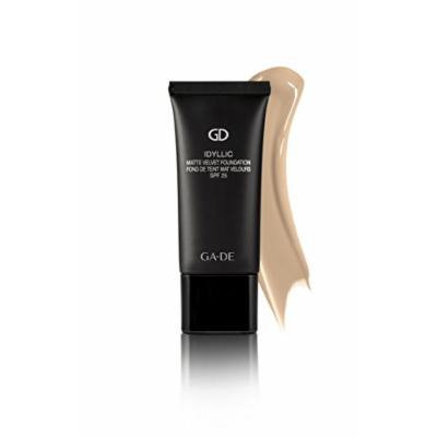 Idyllic Matte Velvet Foundation for Normal/Combination and Oily Skin By GA-DE COSMETICS (PURE BEIGE No. 106)
