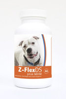 Healthy Breeds 840235125594 Pit Bull Z-FlexDS plus MSM Chewable Tablets - 60 Count
