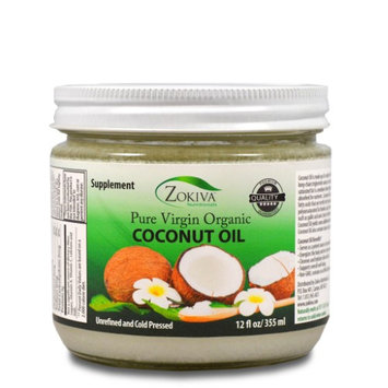 Zokiva Nutritionals Coconut Oil