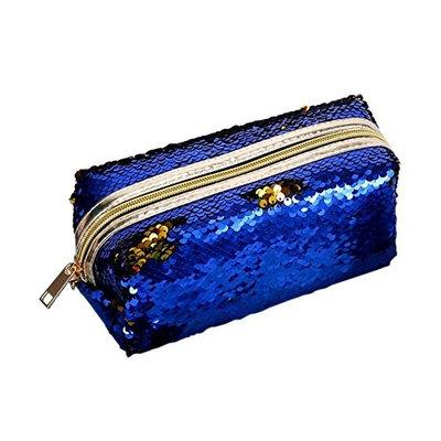 ZTL Mermaid Sequined Bag Portable Zipper Makeup Bag Storage Bag Ladies Wallet Pencil Case Fashion Multifunctional Bags