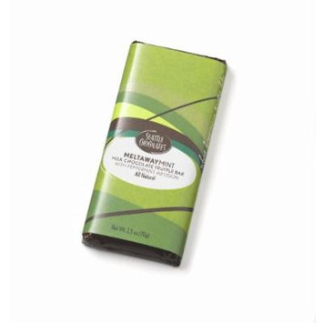 Seattle Chocolates Meltaway Mint Truffle Bar, 2.5-Ounce Bars (Pack of 12)
