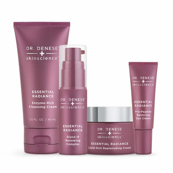 Dr. Denese Essential Radiance Starter Collection | 3-Piece Skin Care Collection | Paraben Free, Not Tested on Animals, Doctor Developed