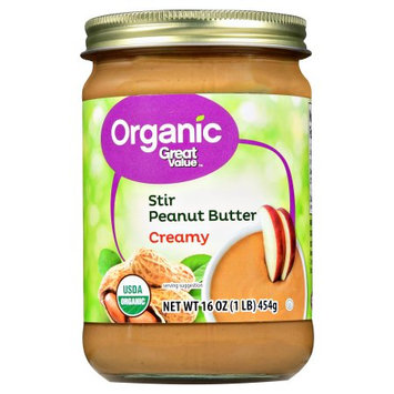 Great Value Organic Stir Peanut Butter Creamy
