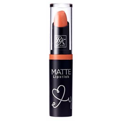 Kiss Ruby Kisses Matte Lipstick Peach Loo (3ml) (6 Pack)