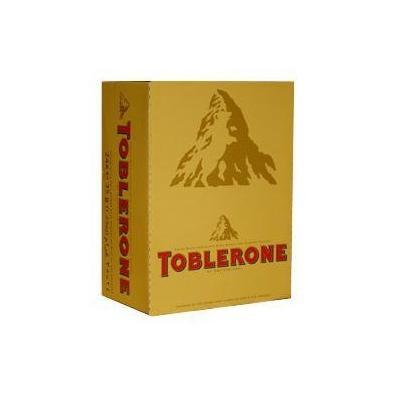Toblerone Swiss Milk Chocolate - 24x35g