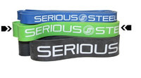 Serious Steel Fitness 78' Resistance Band Agility and Sprinting Band (#4)
