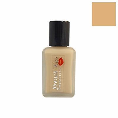 French Kiss Super-Activ Liquid Makeup Foundation Almond 1oz