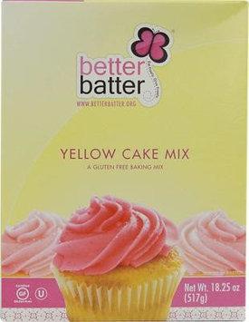 Better Batter Cake Mix Gluten Free Yellow 18.25 oz