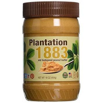 Bell Plantation Creamy 1883 Peanut Butter 16 Oz (12-Pack)