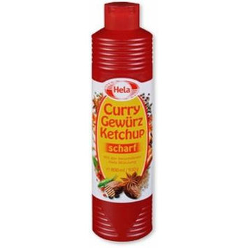 Hela Curry Gewurz Ketchup Hot - 3 Pack Bundle