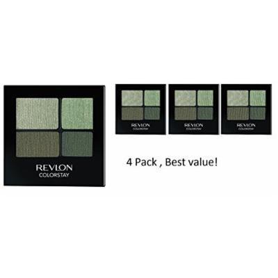 (pack of 4) Revlon Colorstay 16 Hour Eye Shadow Quad,570 Luscious, 0.16 Ounce