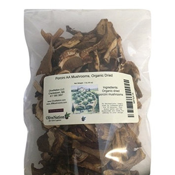 OliveNation Porcini Aa Mushrooms Organic Dried, 16 Ounce