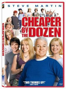 CHEAPER BY THE DOZEN BY MARTIN, STEVE (DVD)