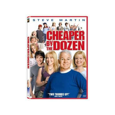 CHEAPER BY THE DOZEN BY MARTIN, STEVE (DVD)