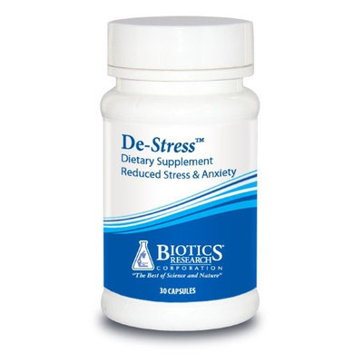 Biotics Research, De-Stress 30 Capsules