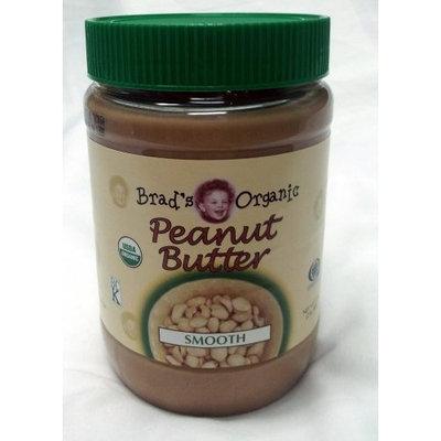 Brad's Organic Smooth Peanut Butter 2 lb. Jar