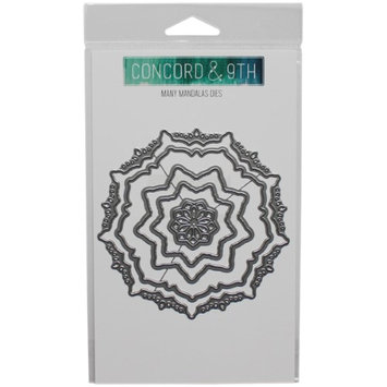 Concord & 9th 10193 Many Mandalas Metal Die Cuts