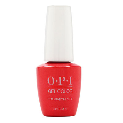 Sephora OPI GelColor I Eat Mainely Lobster Soak-Off Gel Lacquer
