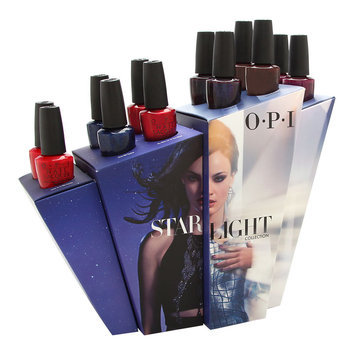 Coty OPI Nail Lacquer Starlight Reds Collection 12 Piece Display