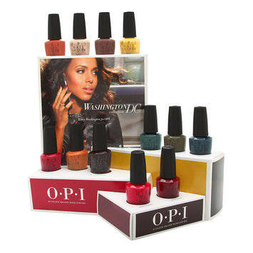 Coty OPI Nail Lacquer Washington DC Collection 12 Piece Display