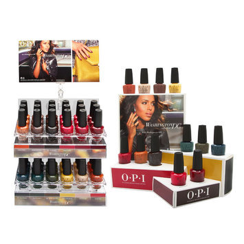 Coty OPI Nail Lacquer Washington DC Collection 36 Piece Display + 12 Piece Display