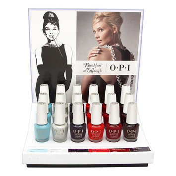 Coty OPI Infintie Shine Breakfast at Tiffany's Collection 18 Piece Display