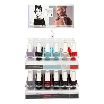 Coty OPI Infintie Shine Breakfast at Tiffany's Collection 36 Piece Display