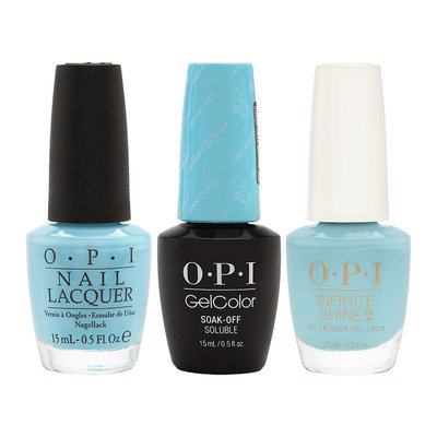 OPI Breakfast at Tiffany's Collection I Believe in Manicures Trio Nail Lacquer