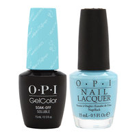 Sephora OPI Breakfast at Tiffany's Collection Holiday 2016 GelColor Gel Polish + Nail Lacquer Duo #1