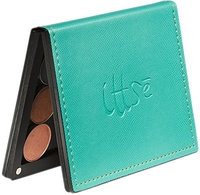 the Palette- SONGBIRD (Magnetic Make-Up Palette - turquoise with snakeskin texture)