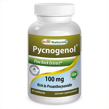 Best Naturals Pycnogenol 100 mg 60 capsules