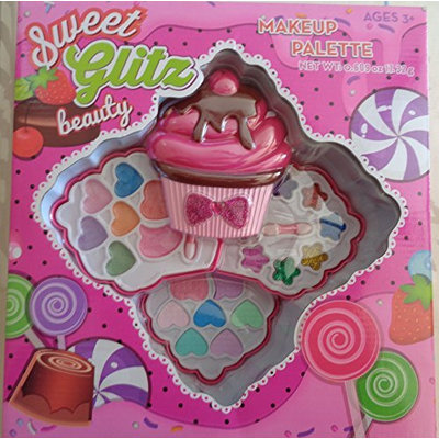 Sweet Glitz Beauty Cupcake Makeup Palette for Kids