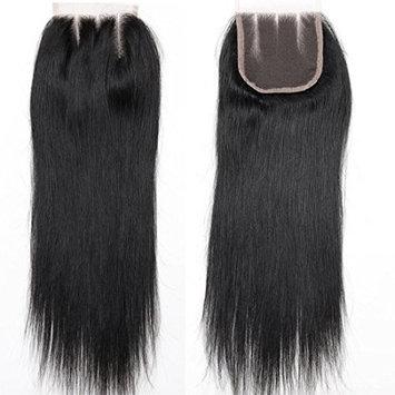 BLACKMOON HAIR 18 Inch 3 Way Part Lace Closure Straight 130% Density 4
