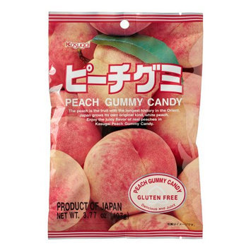 Kasugai Gummy Candy Peach