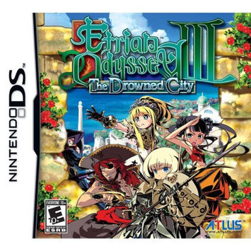 NinDS - Etrian Odyssey III: The Drowned City- By Atlus