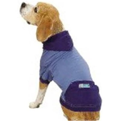Petedge Dealer Services Guardian Gear Insect Shield Dog Pullover S/M BLU
