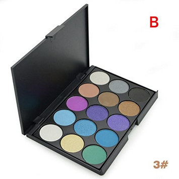 Hatop Ucanbe 15 Earth Color Shadow Contour Palette of Pigments for Makeup Shimmer Eye Shadow