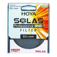 HOYA SOLAS ND-2 (0.3) 1 Stop IRND Neutral Density Filter (82mm)